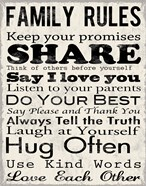 Family Rules 1