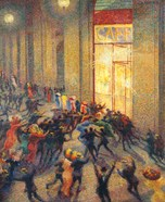 Riot in the Gallery, 1910