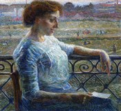 Sister on the Balcony 1909