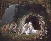 Titania Sleeping, 1841