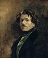 Delacroix, Self-Portrait