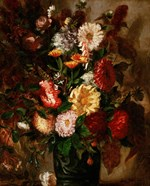 Flowers in an Earthenware Pot, 1847
