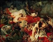 The Death of Sardanapalus, 1827