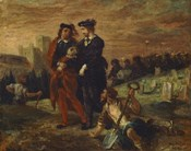 Hamlet and Horatio in the Cemetery