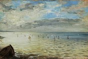 The Sea Seen from Dieppe, c. 1852