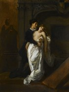 Romeo and Juliet at the Capulet Tomb