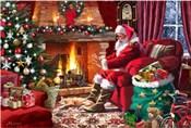 Santa By Fire