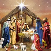 Nativity Collage