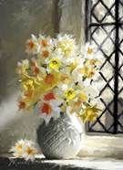 Daffodils At Window