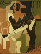 Harlequin with Guitar, 1919