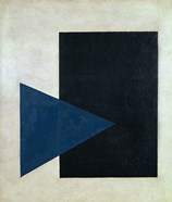 Black Square, Blue Triangle, 1915