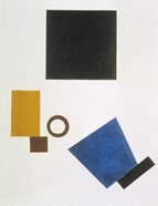 Suprematism: Self-Portrait in Two Dimensions, 1915