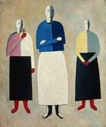 Three Women, c. 1923