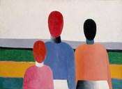Three Female Figures, c. 1928
