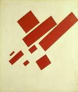 Eight Red Rectangles, 1915