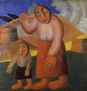 Peasant Woman with Buckets