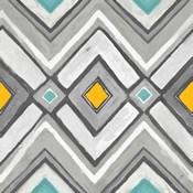 Chevron Tile Black/White II