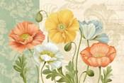 Pastel Poppies Multi Landscape