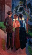 Promenade Of Three People I,  1914