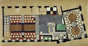 Plan For A Bus Station: Design For The First Floor, 1927