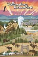 Yellowstone Park Scene