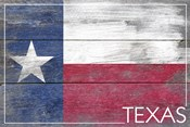 Texas Flag Wood