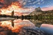 Yosemite Cloud Landscape