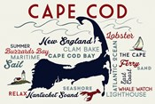 Cape Cod New England Text