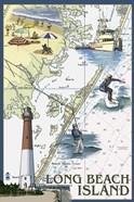 Long Beach Island Map