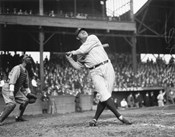 Babe Ruth Seattle Dugdale Park, 1924
