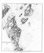 Portland Harbor, Maine Map