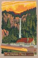 Multinomah Falls And Lodge