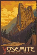 Yosemite National Park Scene III
