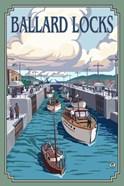 Ballard Locks Boat Ad