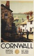Cornwall Village Train Ad