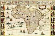 Decorative Africa Map