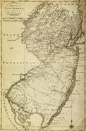 New Jersey State Map
