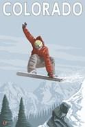 Colorado Snow Boarding Ad