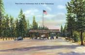 Yellowstone Park West Gate