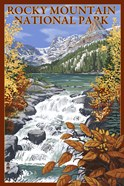 Rocky Mountain Park Waterfall Ad