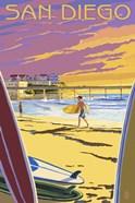 San Diego Beach Ad
