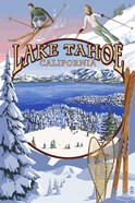 Lake Tahoe Skiiers Ad