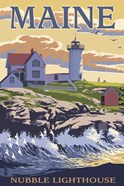 Nubble Lighthouse Ad