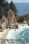 McWay Falls Big Sur Coast