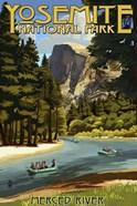 Merce River Yosemite Park