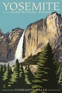 Yosemite Falls Park Ad