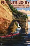 Picture Rocks Lakeshore Michigan