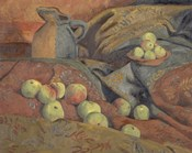 Still Life: Apples And Pitcher, 1912