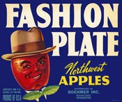 Fashion Plate Apples