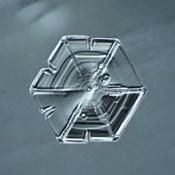 Hexagonal Plate Snowflake 002.2.14.2014